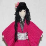 patron gratis kokeshi amigurumi | free amigurumi pattern kokeshi