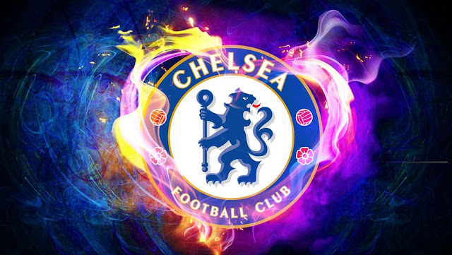 Logo Chelsea Fc Wallpapers with Flames Edition - Chelsea FC Wallpapers