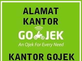 Alamat Kantor Gojek se-Indonesia