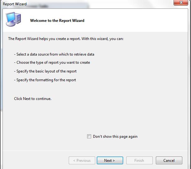 Create RDLC Report in Asp net Example in Visual Studio 2010