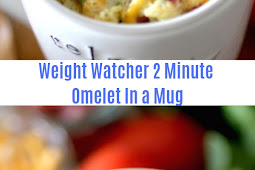 Weight Watchers 2 Minute Omelet In a Mug