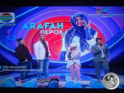 Juri sedang komentari penampilan Arafah Depok SUCA 2
