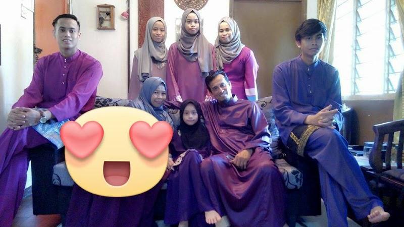 Syawal 1436 : Raya pertama dengan mak dan abah di Kuala Lumpur