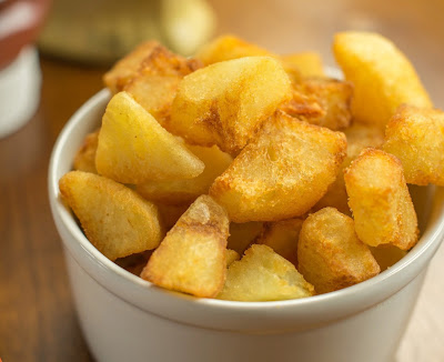 Batata Frita Crocante (vegana)