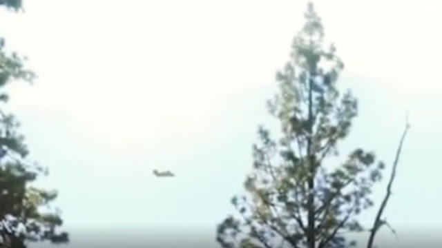 Brown Mountain In North Carolina UFO Mothership Incident With A Plane Checking It Out.
