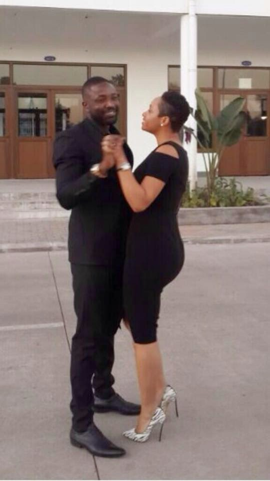 Couple Love - Pokello and Elikem Show Off His and Hers Designs