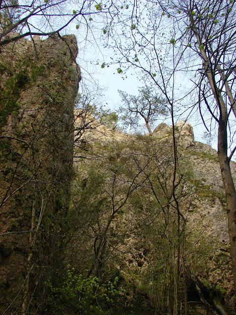 Вертикальные стены каньона