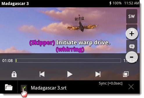 Cara Menonton Film di Android dengan Subtitle Teks Sub Indo