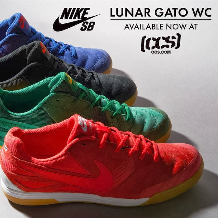 san francisco 6078d cbc51 Nike SB Lunar Gato