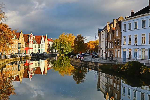 Bruges Belgium Eurostar journey or flight away, this historic city