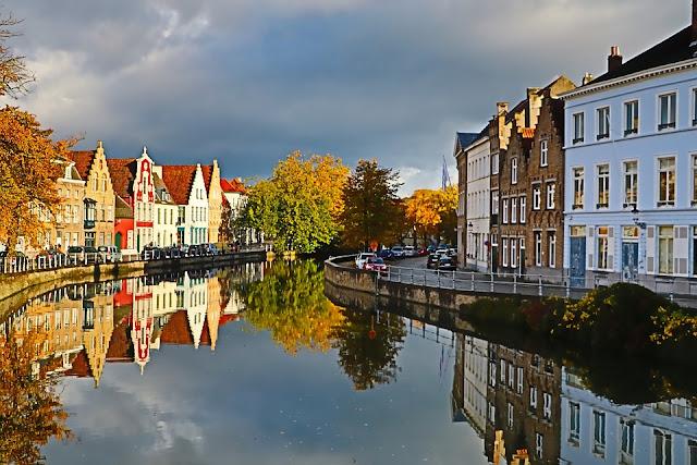 Bruges Belgium Eurostar journey or flight away, this historic city