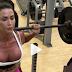 Treino de musculação da Gracyanne Barbosa com foco nos quadríceps e posterior