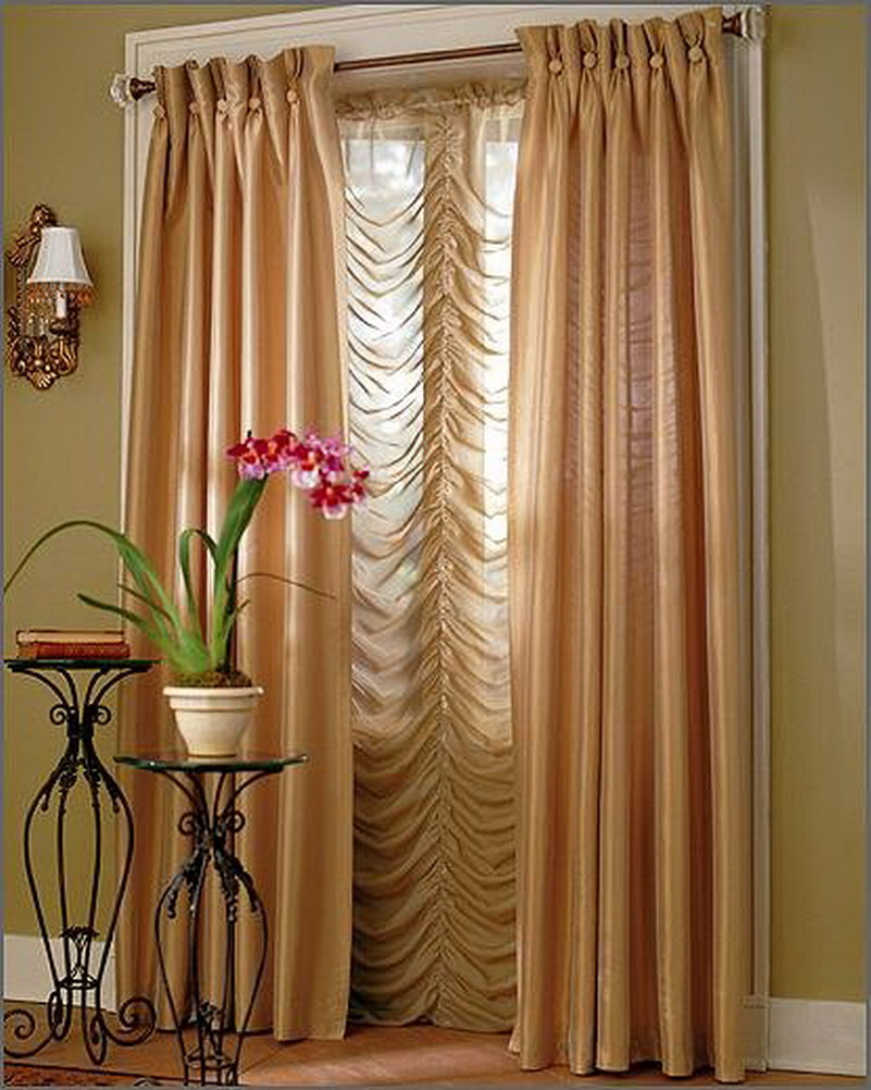 Curtain Scarf Hanging Ideas Valance Scarves