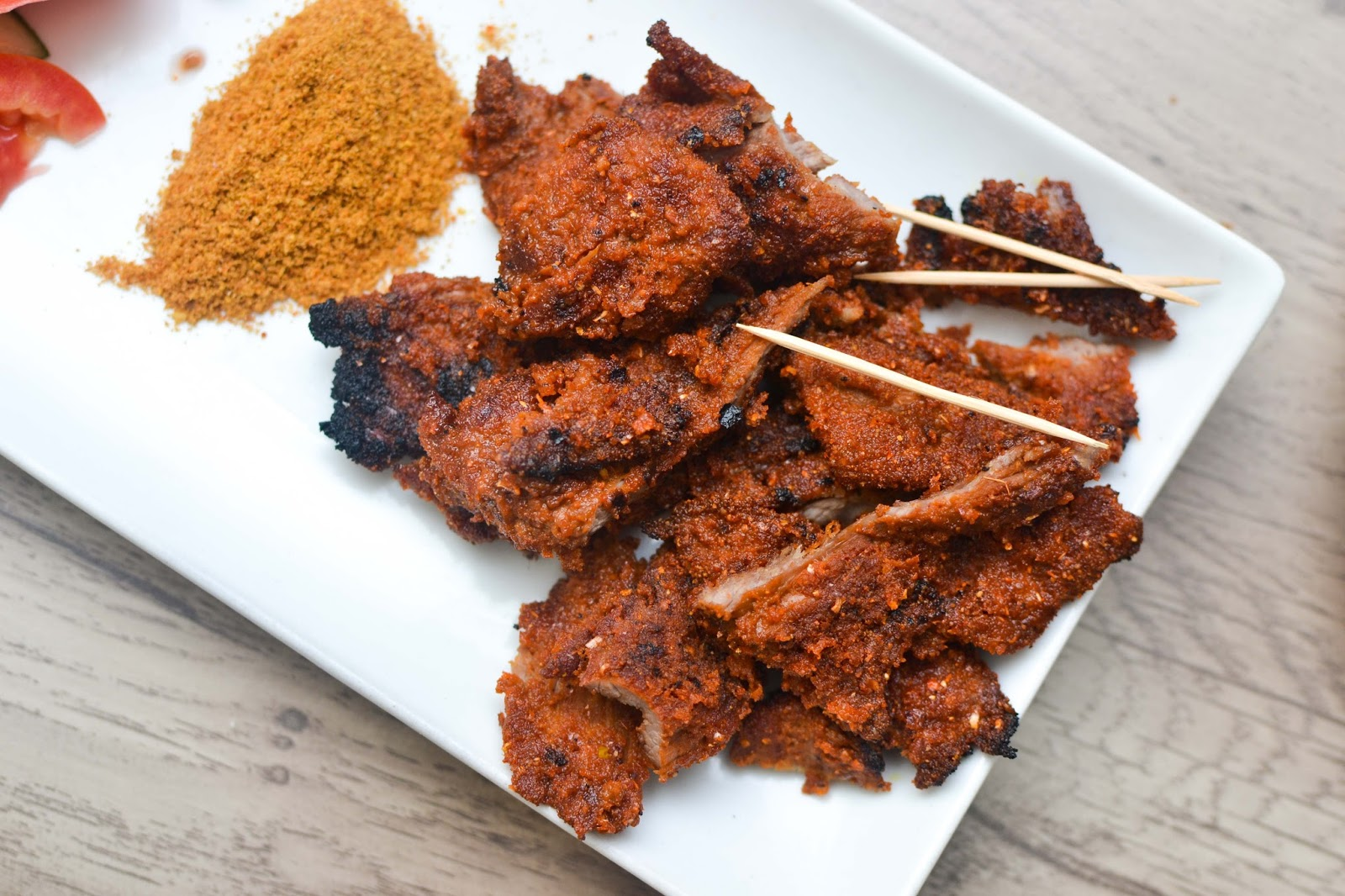 Peppered Chicken Suya