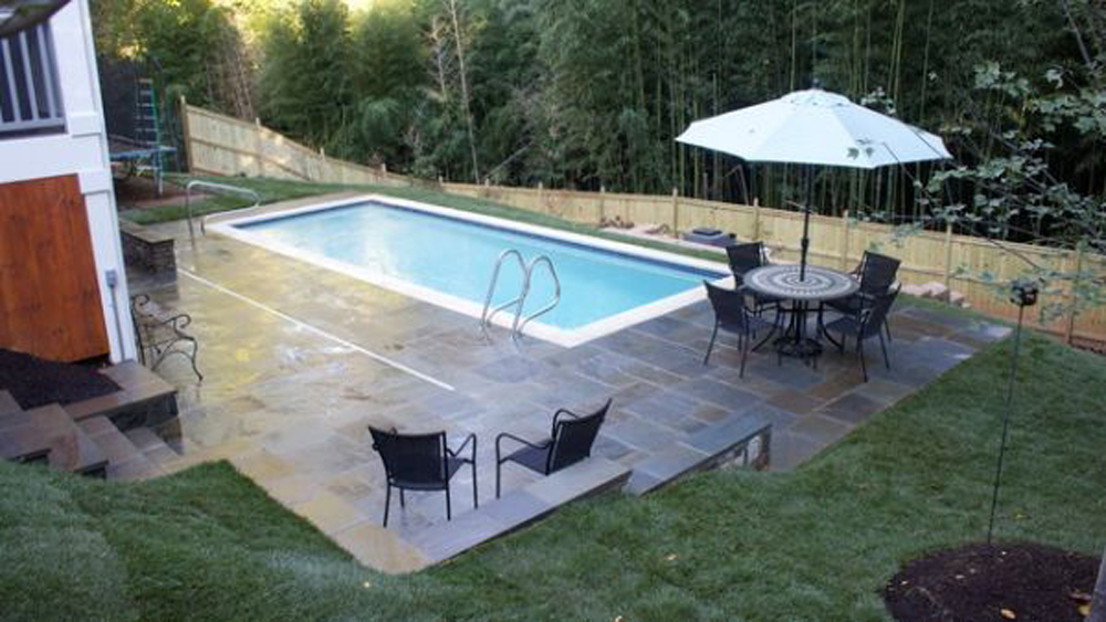 22 backyard pool ideas inspiration and ideas diy home for Backyard pool design ideas
