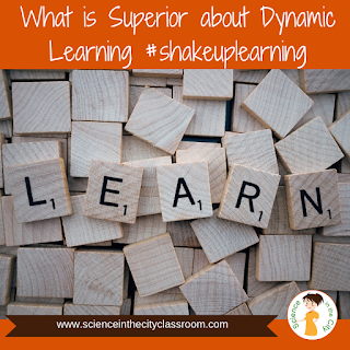 Shake up learning calls for learning activities that go beyond one and done activities.   Learning can (and perhaps should) break the boundaries of the school day, due dates, and the prescribed curriculum.