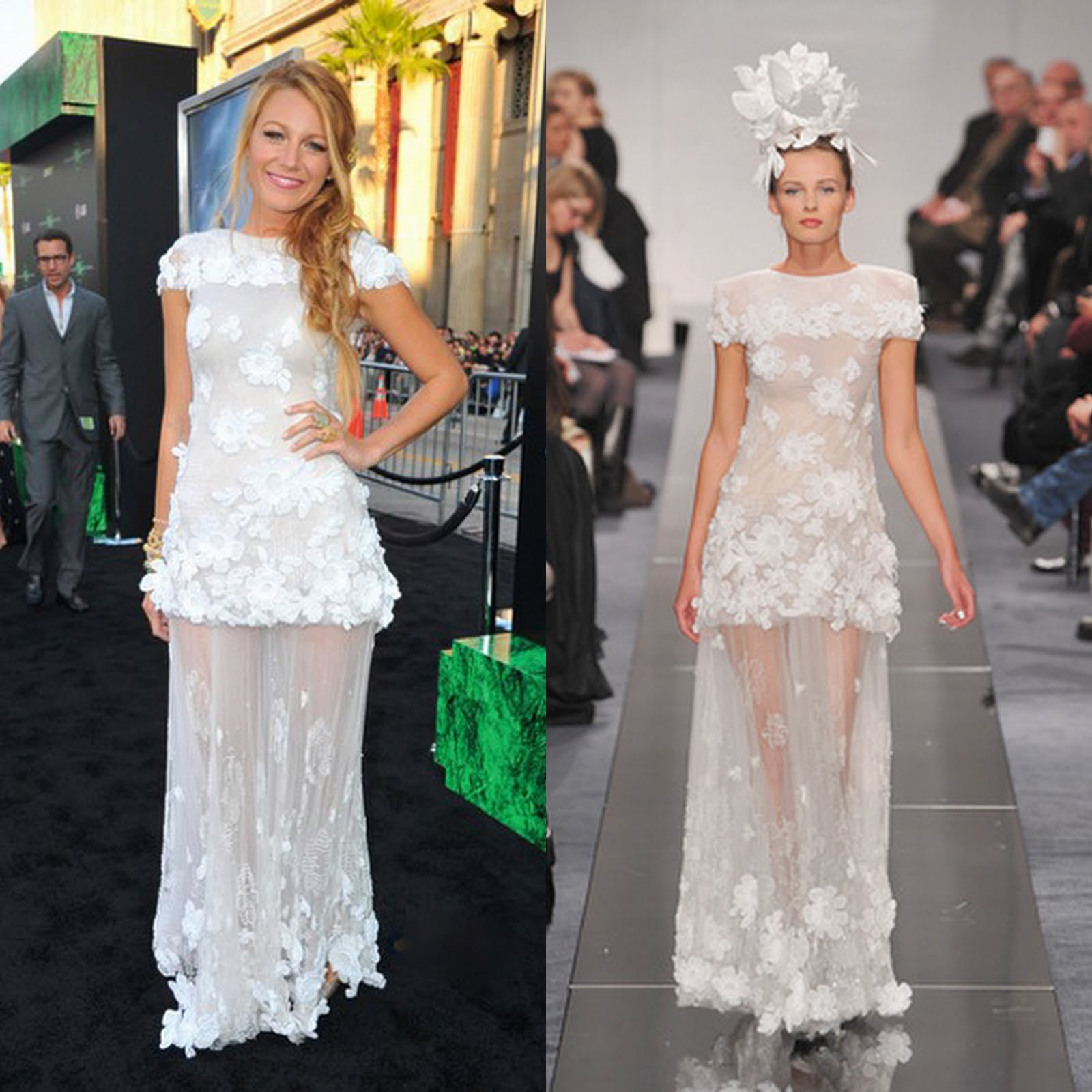 Blake lively in chanel fashion naturally blake lively in chanel ombrellifo Gallery