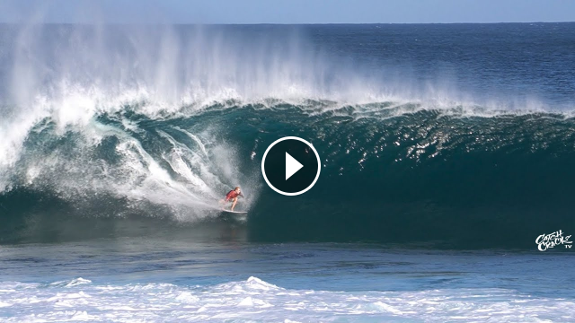 Beautiful Day at PIPELINE RAW FOOTAGE 2020