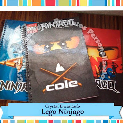 Caderno Lego Ninjago