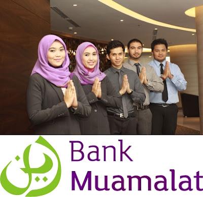 Rekrutmen Karyawan/Karyawati Min.SMA/SMK/D3/S1 Semua Jurusan PT Bank Muamalat Indonesia Via Email Seluruh Indonesia