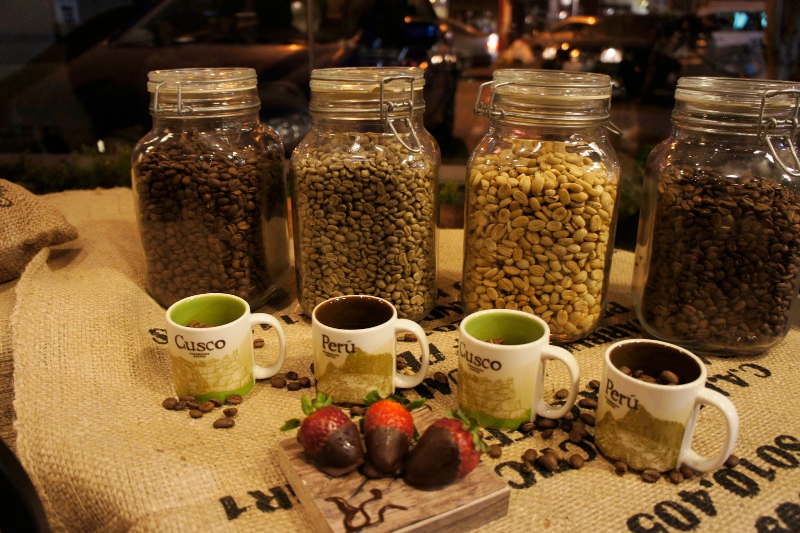 Café Peruano, Starbucks
