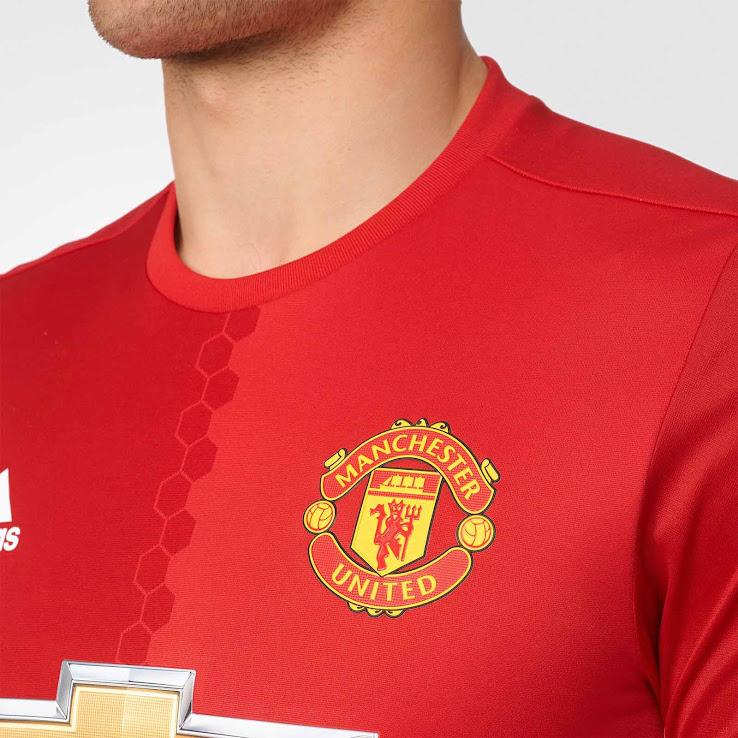 Oficial: Nueva camiseta titular adidas del Manchester United