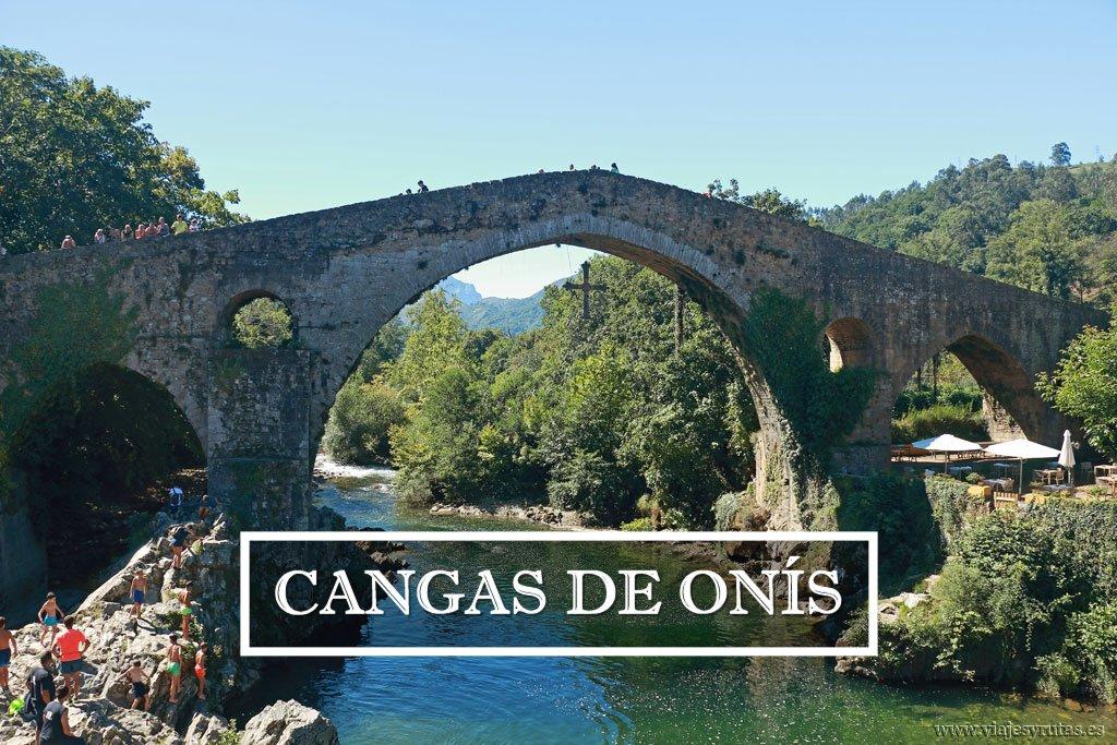 Cangas de Onís, donde se gestó el Reino de Asturias