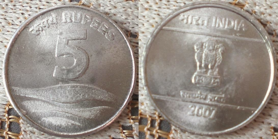 coins currency fake in india