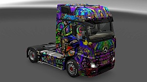 Psychedelic Skin Pack for All Trucks