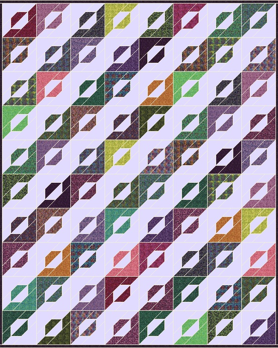 Lets Quilt Something Candy Strip Free Quilt Pattern Layer Cake