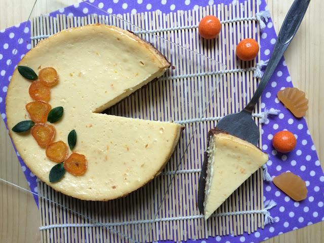 tangerine-cheesecake, tarta-de-queso-de-mandarina
