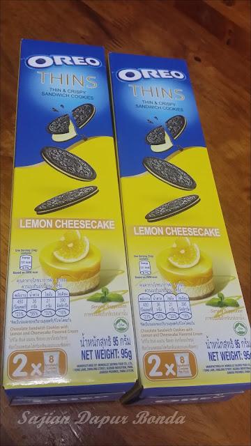Terdapat Tiga Perisa Baharu Iaitu Lemon Cheese Cake Vanilla Delight Dan Tiramisu Biskutnya Lebih Nipis Daripada Biskut Oreo Biasa Rangup