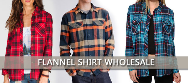 flannel wholesale