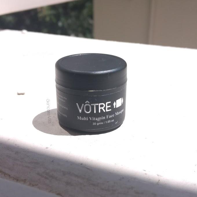 Votre Multi Vitamin Face Masque Review