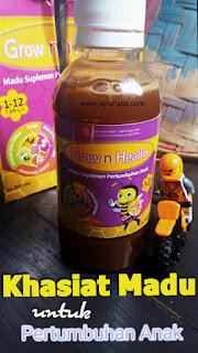 Khasiat Madu untuk Pertumbuhan Anak, Grow n Health