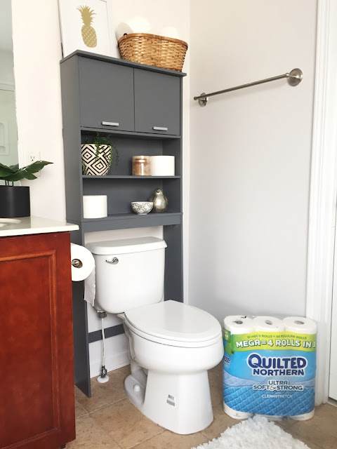 #QuiltedHoliday #BathroomRefresh #ad #shop #BBGD