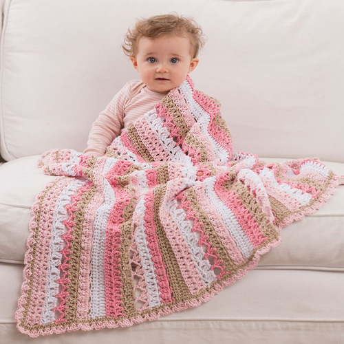 Be My Baby Blanket - Free Pattern