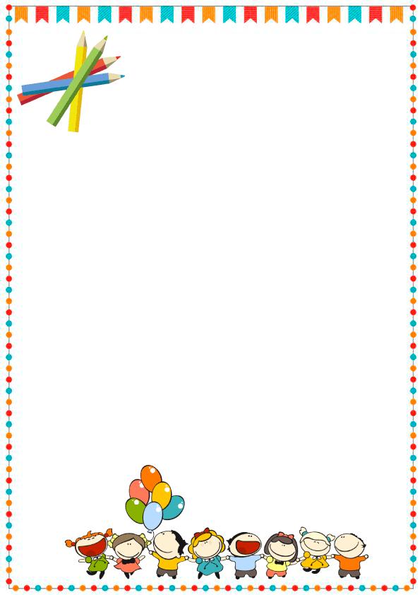 Caratulas de cuadernos para niños y  niñas de inicial de globos