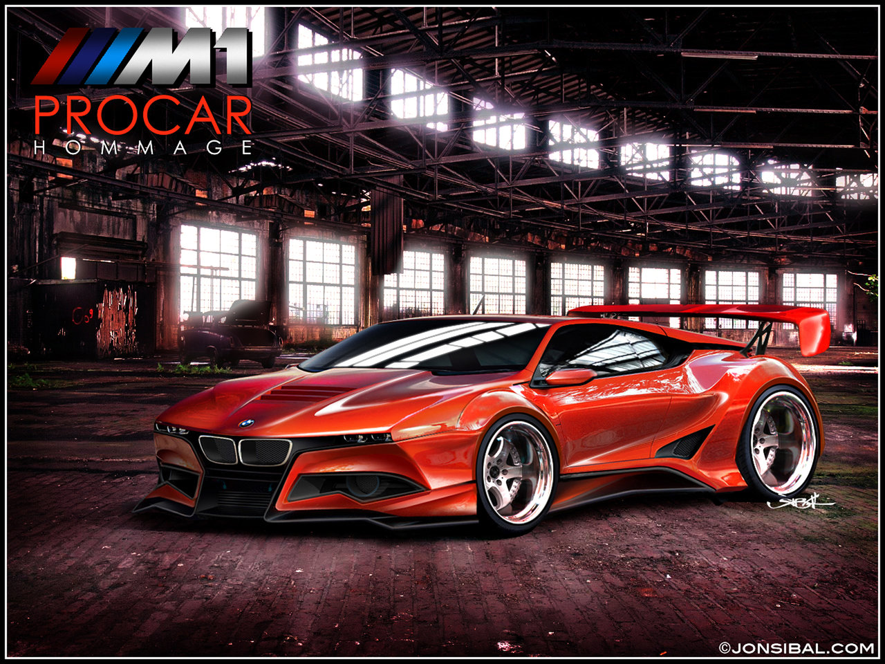 Cool BMW Cars Body Modifications Wallpaper