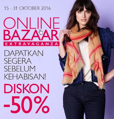 Online Bazaar Oriflame 15-31 Oktober 2016
