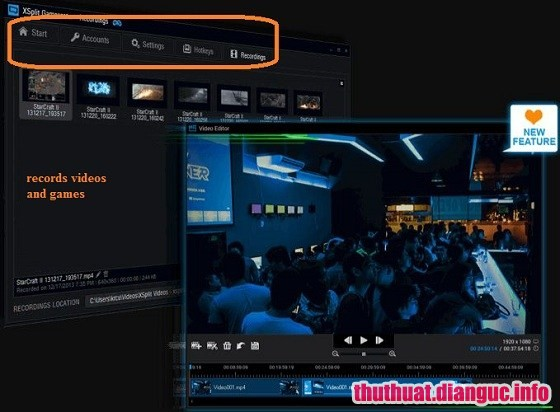 Download XSplit Broadcaster 3.4.1806.2229 Full Cr@ck – Phần mềm Livestream chuyên nghiệp