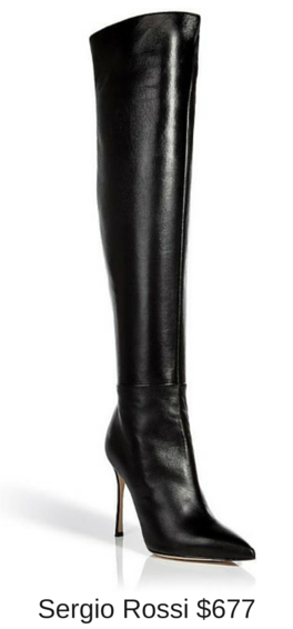 Sydney Fashion Hunter - These Boots Are Made For Walking - Sergio Rossi