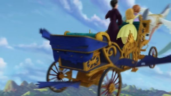 Watch Sofia the First how to drive a flying coach feature The curse of Princess Ivy with Princesses Sofia and Amber, Princess Ivy, Cedric