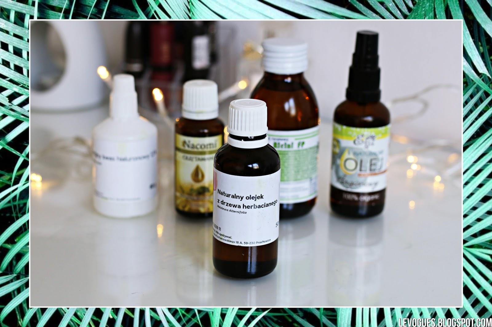olejek olej z drzewa herbacianego trądzik przebarwienia blizny