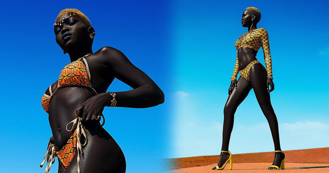 sudanese model entitled queen of the dark refused 10 000 offer to bleach her skin. Black Bedroom Furniture Sets. Home Design Ideas