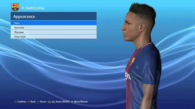Face Yerry Mina PES 2017