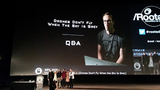 Rooted2017 - Drones Don't Fly When Sky Is Grey