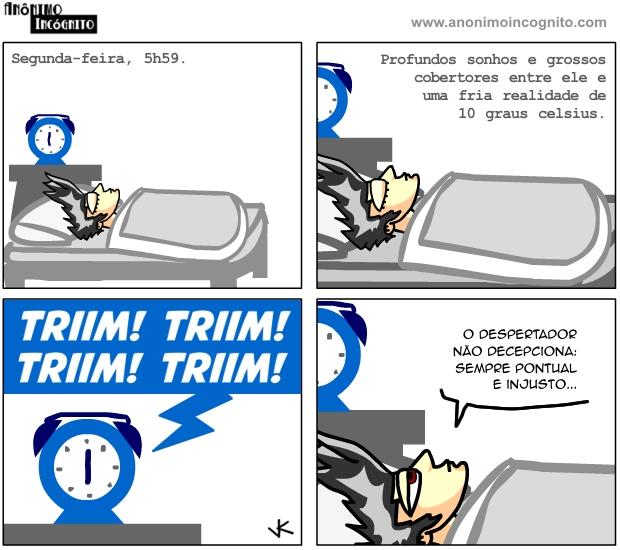 anonimo incognito em quadrinhos: aquele que não decepciona