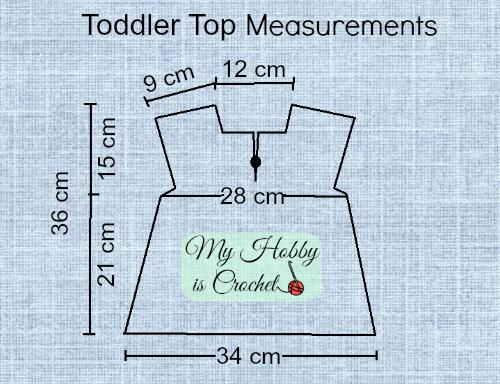 Iris Toddler Top - Free Crochet Pattern