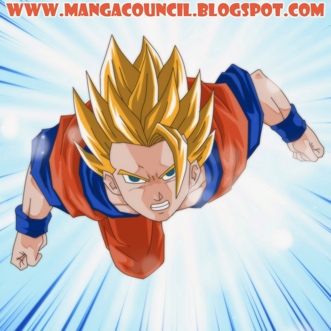 Cara Menggambar Son Goku Dragon Ball Z Manga Council